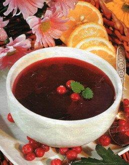 Английский ягодный соус