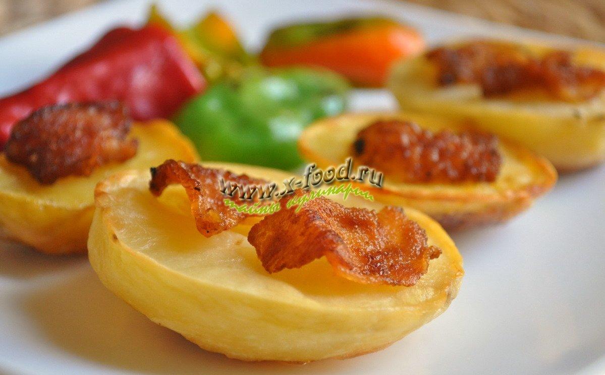 Рецепт как запечь картошку с салом в духовке