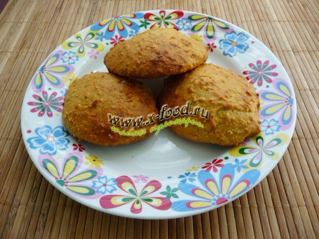 Овсяное печенье из овсяных хлопьев без масла рецепт с фото пошагово