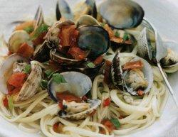 Спагетти с Моллюсками