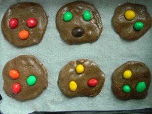 Печенье с MMs