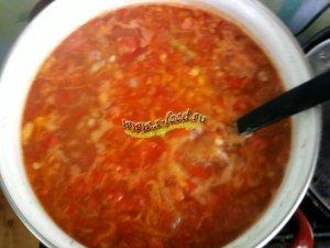 Осенний суп с перловкой