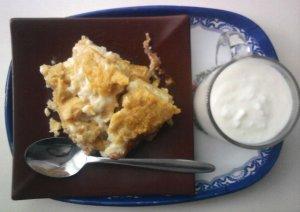 Запеченная мамалыга с сыром