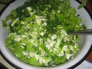 Летний полезный салат