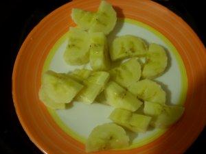 Блинчики с творогом и бананом