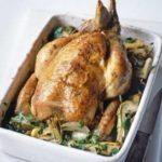 Цыпленок, запеченный в духовке