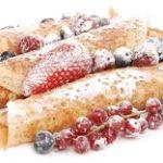 Блинчатые пирожки с разными начинками