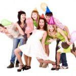 День рождения подростков и взрослых