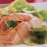 Савойская капуста с лососем