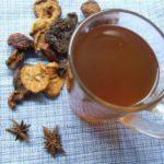 Напиток из сухофруктов с бадьяном