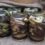 Баклажаны как грибы