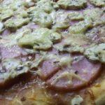 Наша пицца с ветчиной и грибами