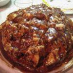 Торт Метеорит черносливом и орехами