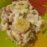 Африканский салат с бананом