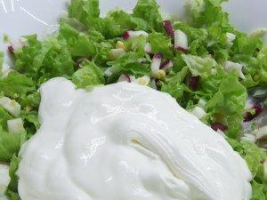 Салат со свежим салатом