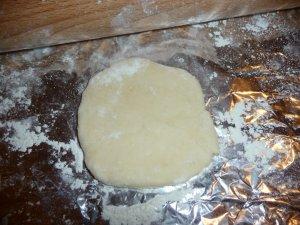 Бездрожжевые пирожки с курагой