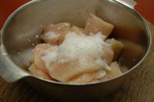 """Свинной """"карбонад"""" из куриного филе"""