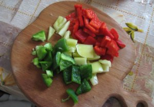 Салат свежесть лета