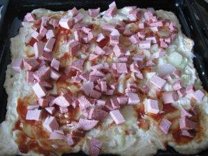 Наливная пицца для ленивых