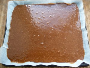 Брауни из черного шоколада