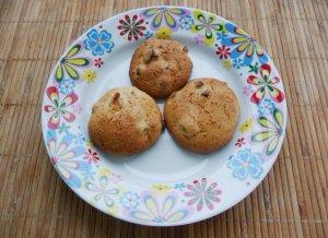 Печенье с курагой и медом