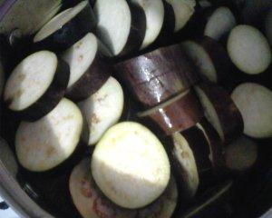 Баклажаны маринованные с луком и петрушкой