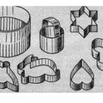 Кондитерские формы-выемки