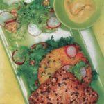 Овощной сандвич с салатом