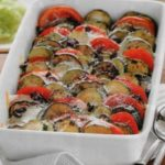 Запеченные овощи с сыром