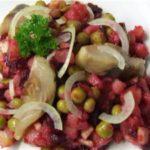 Немецкий салат с сельдью