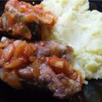 Пеленгас жаренный (с луковой подливкой)