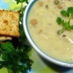 Суп с горохом и молоком
