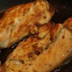 Куриные грудки в имбирно-соевом маринаде