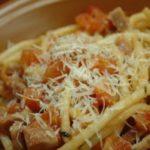 Спагетти Amatriciana