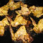 Крылышки с кунжутом